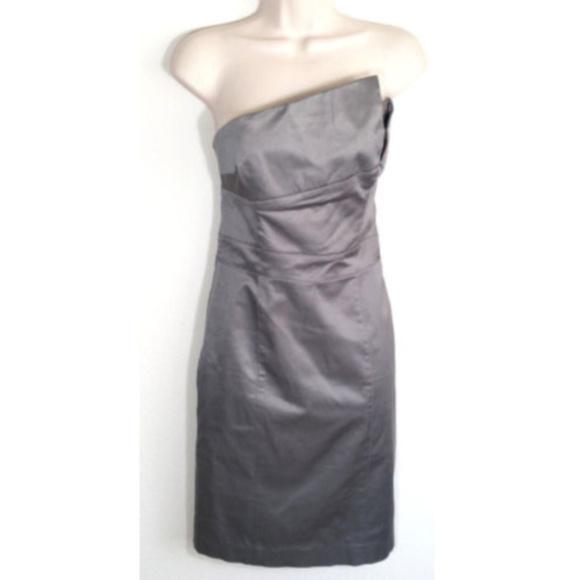 bebe Dresses & Skirts - BEBE Sheath Dress Strapless Cocktail Party 1418E1